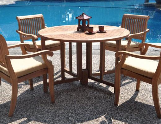 Luxurious-grade-a-teak-dining-set